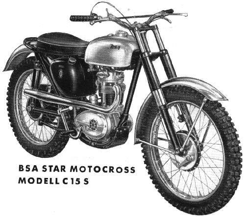 1956 BSA C15 Motocross