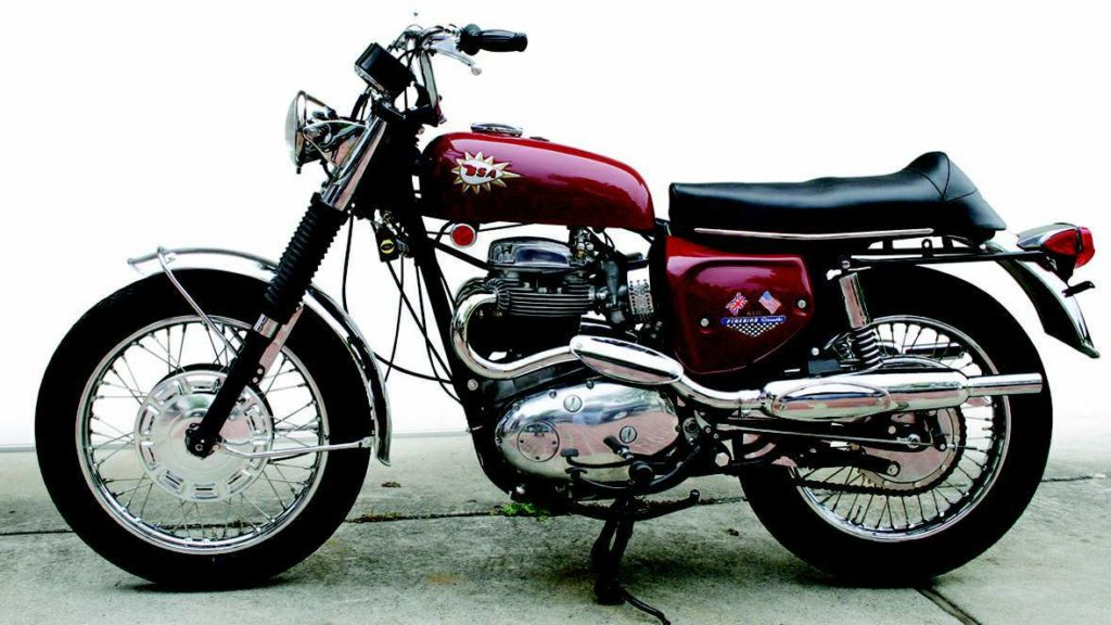 1968 BSA A65 Firebird