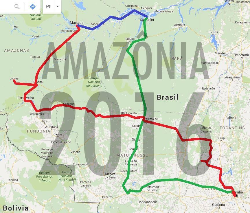 Logotipo Amazonia 2016